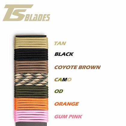 TSBlades paracord kleuren