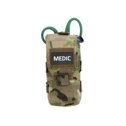 Warriors IFAK MC (Individual First Aid Kit) is ontworpen voor het bewaren van een persoonlijke medische kit voor operators.