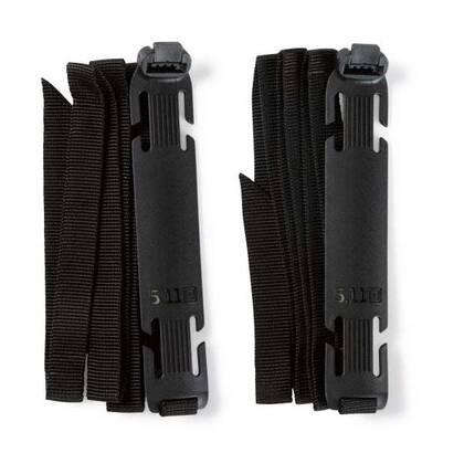De Sidewinder Banden Set L (Large) zijn de grotere versie van de patent pending sidewinder banden S. Deze langere versie is geschikt voor het bevestigen van grotere en zwaardere lasten aan de MOLLE-webbing van je tas, vest of Hexgrind stoel platform. De sidewinder is van flexibel en duurzaam polymeer waaraan de stevige nylon banden zijn bevestigd. Deze nylon banden zijn 110 cm lang en kunnen worden gebruikt om je slaapzak, zeil, jas of wat je maar kunt bedenken te bevestigen aan je MOLLE. De bevestiging gaat snel en eenvoudig door een snel sluiting.