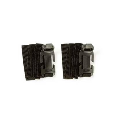 De Sidewinder Banden Set S (Small) zijn de kleinere versie van de patent pending sidewinder banden L (Large). Deze langere versie is geschikt voor het bevestigen van grotere en zwaardere lasten aan de MOLLE-webbing van je tas, vest of Hexgrind stoel platform. De sidewinder is van flexibel en duurzaam polymeer waaraan de stevige nylon banden zijn bevestigd. Deze nylon banden zijn elk 60 cm lang en kunnen worden gebruikt om je slaapzak, zeil, jas of wat je maar kunt bedenken te bevestigen aan je MOLLE. De bevestiging gaat snel en eenvoudig door een snel sluiting.