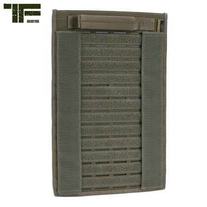 Het Task Force 2215 Klittenband en molle paneel Ranger Green is de ideale manier om je pouches te ordenen. Molle of klittenband, alles kan op dit paneel worden bevestigd. Dit paneel is ongeveer 39 bij 26 cm en kan bijvoorbeeld gebruikt worden om pouches in een tas mee te nemen.