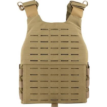 De Viper VX Buckle Up Carrier Gen2 Coyote is een modulair vest dat is ontworpen om een verscheidenheid aan VX-systemen en MOLLE-compatibele accessoires te dragen.