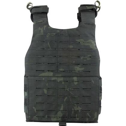 De Viper VX Buckle Up Carrier Gen2 Multicam Black is een modulair vest dat is ontworpen om een verscheidenheid aan VX-systemen en MOLLE-compatibele accessoires te dragen.