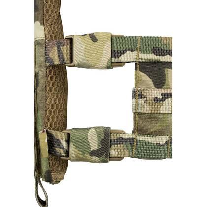 De Viper VX Buckle Up Carrier Gen2 Multicam is een modulair vest dat is ontworpen om een verscheidenheid aan VX-systemen en MOLLE-compatibele accessoires te dragen.