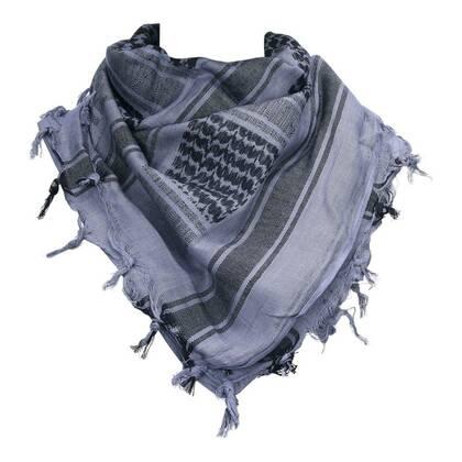 Shemag Zwart grijs