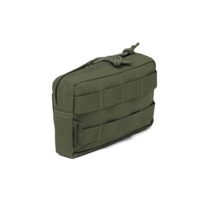 Warrior Assault Systems Small Horizontal Molle Pouch OD (W-EO-SHMP-OD)