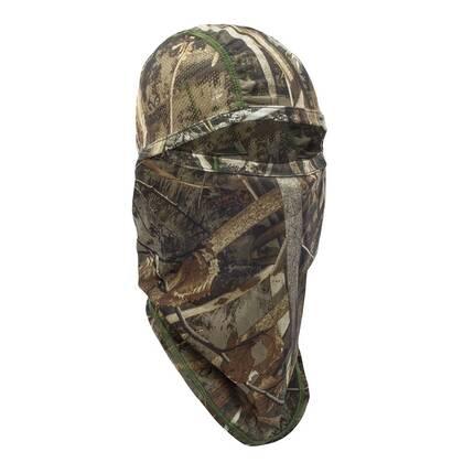 De Deerhunter Balaclava Realtree Max-5 is een gezichtsmasker gemaakt van rekbare 4-way stretch stof in de originele Realtree MAX-5 camouflage.