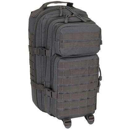 Deze heerlijk zittende Assault 1 Basic Grijs is een ideale rugtas voor kortere tripjes. Met diverse compartimenten geschikt om tot wel 30 liter aan kleding en uitrusting mee te dragen. De met gevoerde schouderbanden zorgen, samen met de buikband, voor een prettige verdeling van het gewicht.