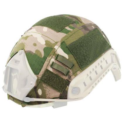 De Black River Helm cover multicam is gemaakt van nylon met ripstop-afwerking.
