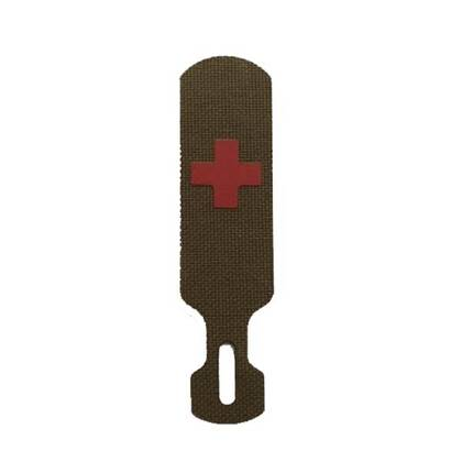 De Tacpull Medic Coyoteis een eenvoudig te monteren accessoires voor bijna elke rits.