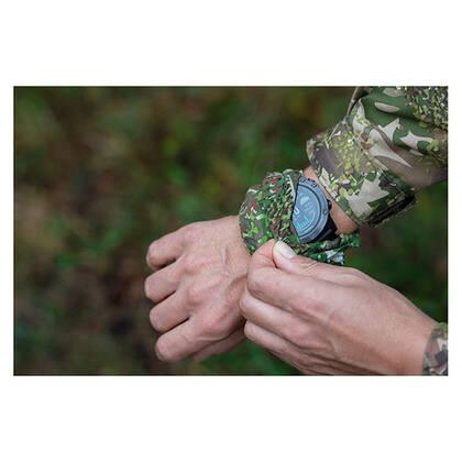 Universele handcamouflage ConCamo groen geschikt voor elke handschoen, of het nu winter of zomer is. 8-kleuren camouflageprint Concamo Groen.