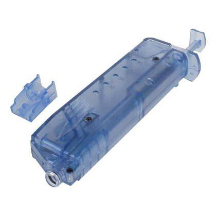 andig en praktisch, deze 100 BB Speedloader Blauw past met gemak in een pouch of zak.