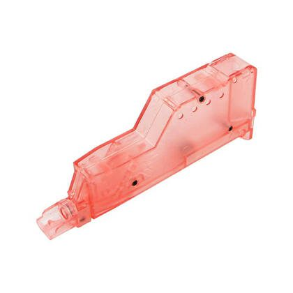 andig en praktisch, deze 155 BB Speedloader Rood past met gemak in een pouch of zak.