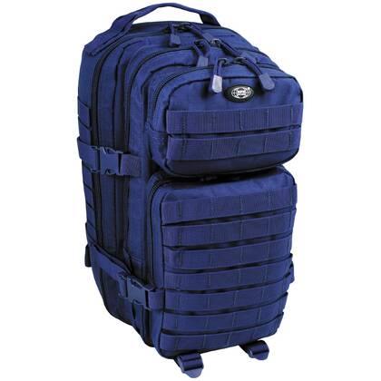 Deze heerlijk zittende Assault 1 Basic Blauw is een ideale rugtas voor kortere tripjes.