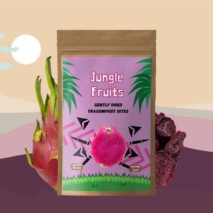 Jungle Fruits Drakenfruit, ook wel pitaya genoemd, is een superfruit met de smaak van een zoete mix tussen appels en kiwi.